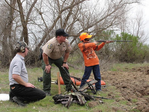 Wyoming game and fish department offering hunter education for Wyo game fish