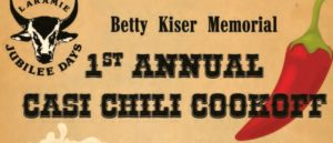 Betty Kiser Memorial Chili Cook-Off @ Downtown Laramie