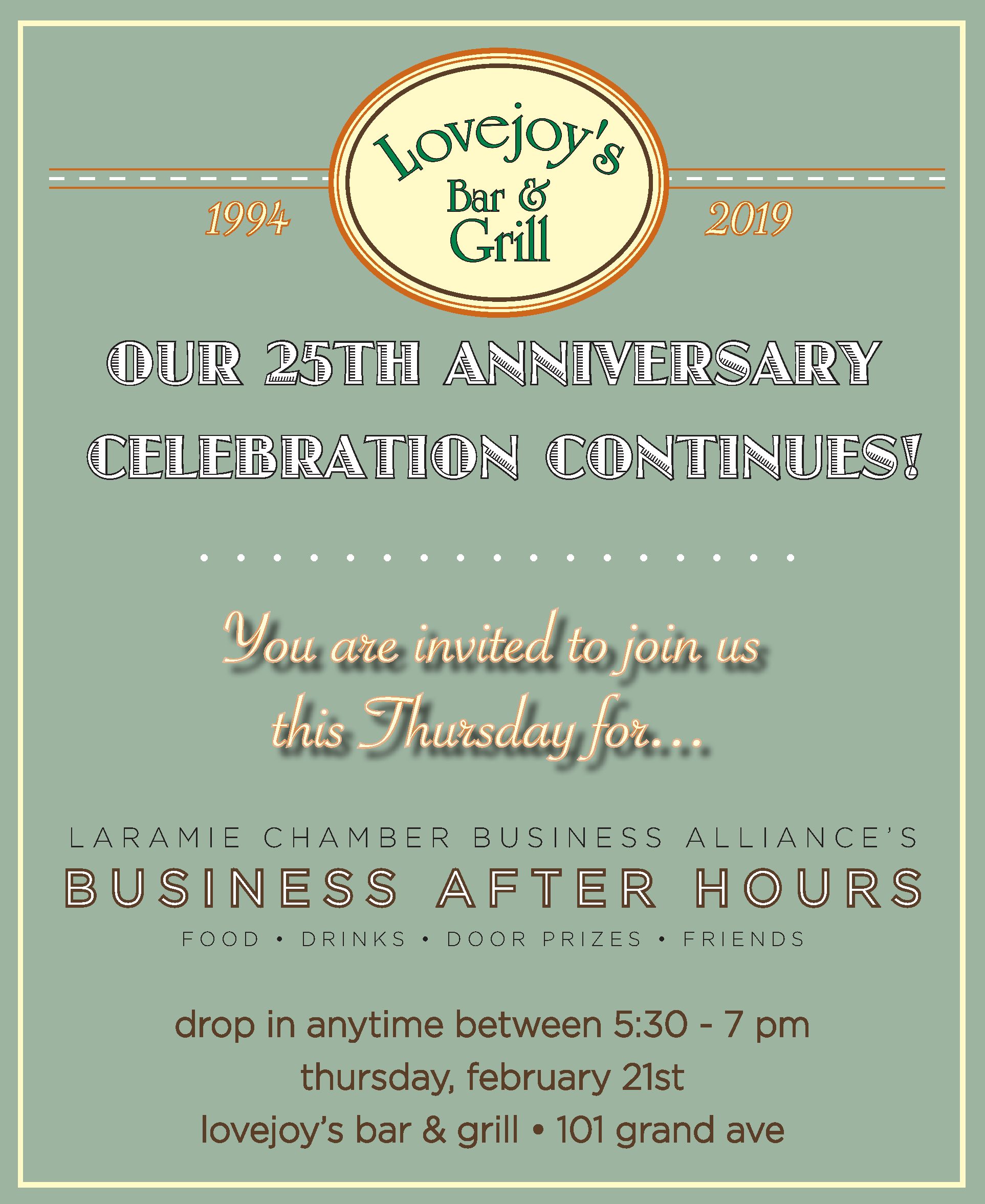 Business AfterHours at Lovejoys